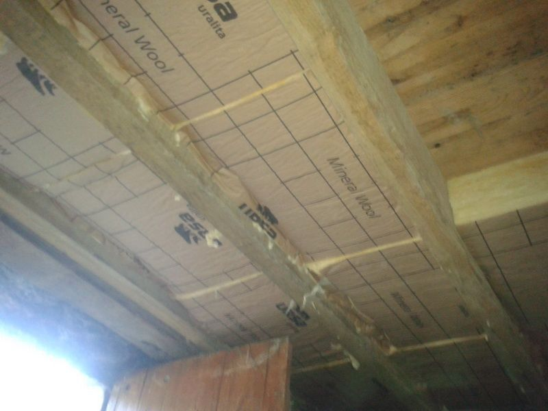 Isolation plafond cave plancher rev tements modernes du toit for Chauffer un garage non isole