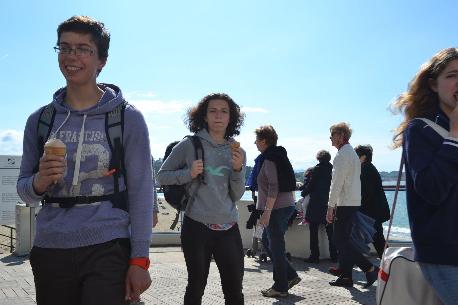 mercredi aprem: excursion St Jean de Luz et Biarritz