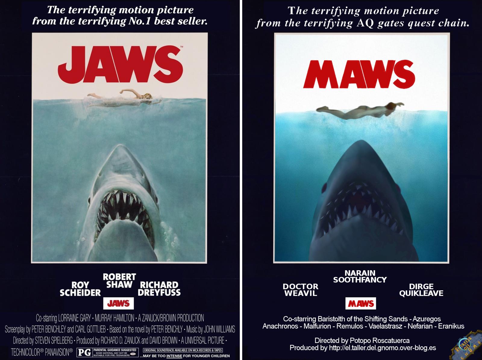 Una restrospectiva de los carteles de las películas versión wow [parte 4]