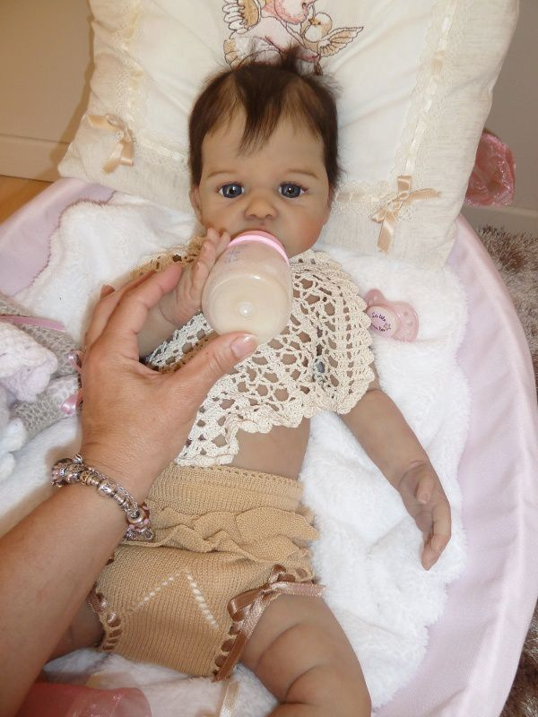 Mathilde full silicone 60 cm 5.200 kg or 24&quot&#x3B; and 11.45 lbs