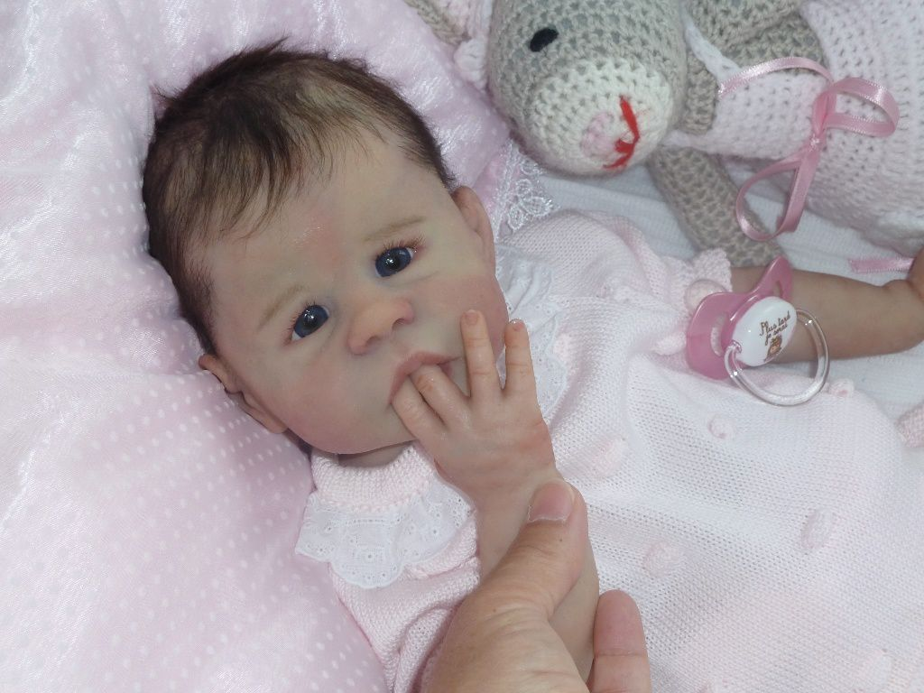 Bébé &quot&#x3B;Hope&quot&#x3B; petite fille full silicone ADOPTEE