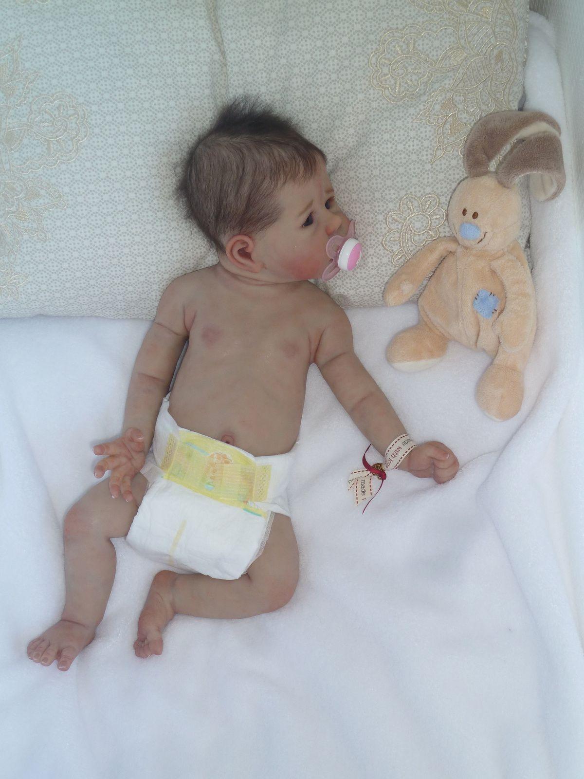 Bébé Hope 2 Full Silicone Adoptée
