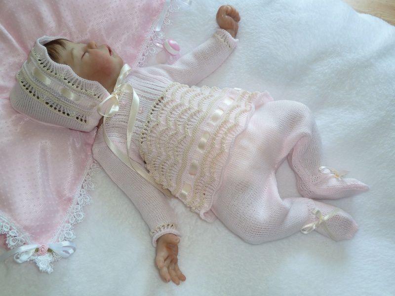 Bébé Hope endormie &quot&#x3B;la dernière de cette série&quot&#x3B;
