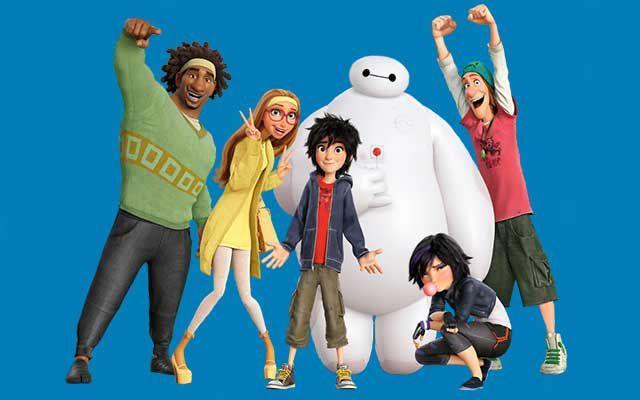 (Les nouveaux-héros des studios Disney à voir à l'Alpe d'huez avant sa sortie en France)