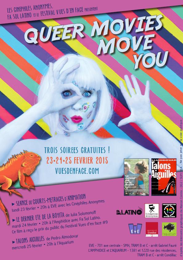 Le mini-festival Queer Movies Move You à Grenoble.