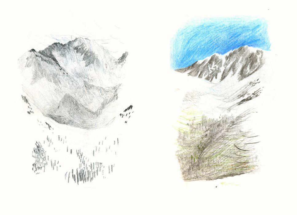 Carnet A5, hiver 2012