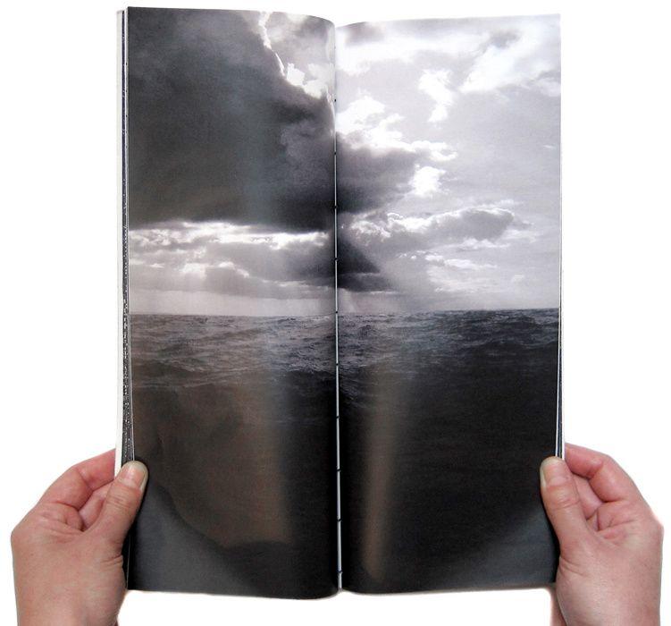 Plongées Célestes, Livre d'artiste, 86 pages, 14 x 32 cm, 10 exemplaires, Juin 2008