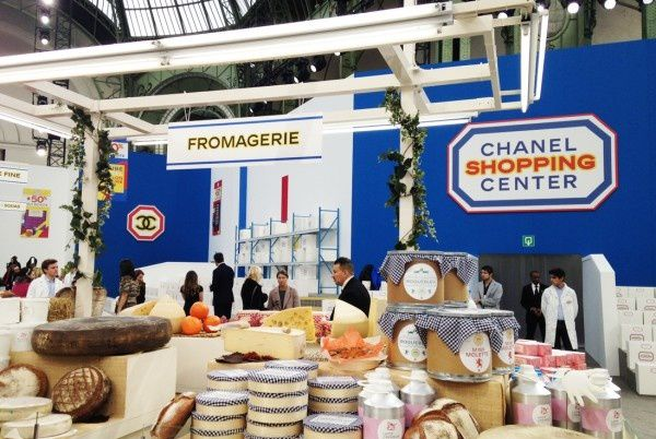 Le rayon fromagerie