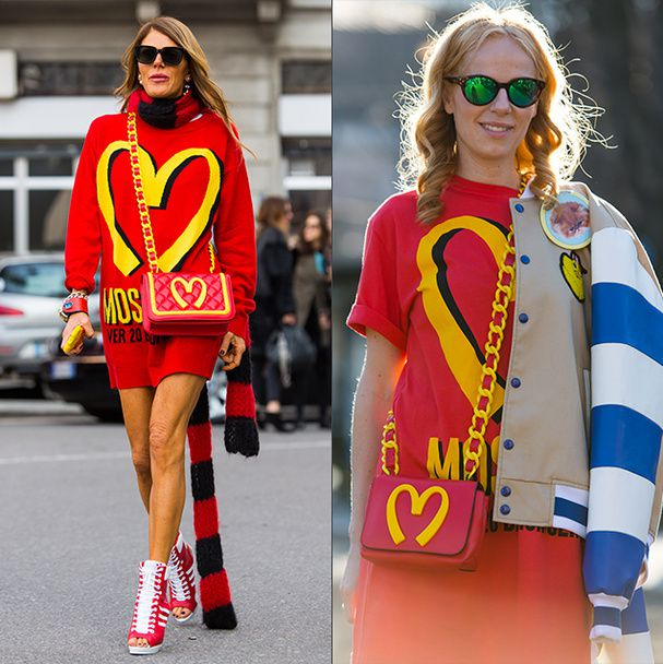 La collection capsule Mac Donalds by Moschino