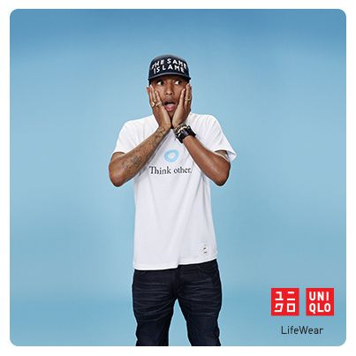 Uniqlo s'offre Pharell Williams