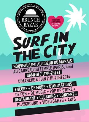"Le Brunch Bazar 2014 ou la tendance ""Surf"""