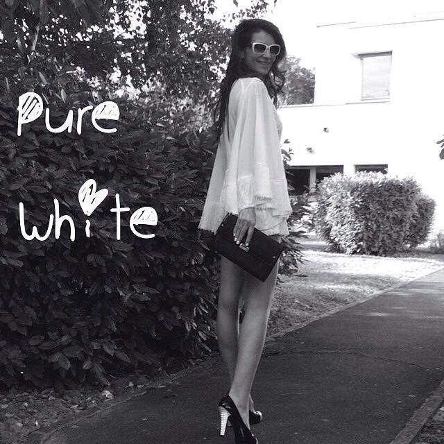 """Mon Style #10 """"Le blanc tout en élégance"""""""