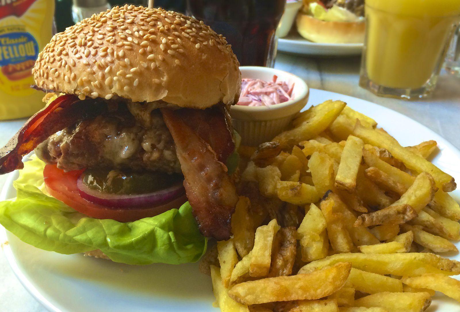 L'American Bistrot, l'un des meilleurs spots de burgers parisiens