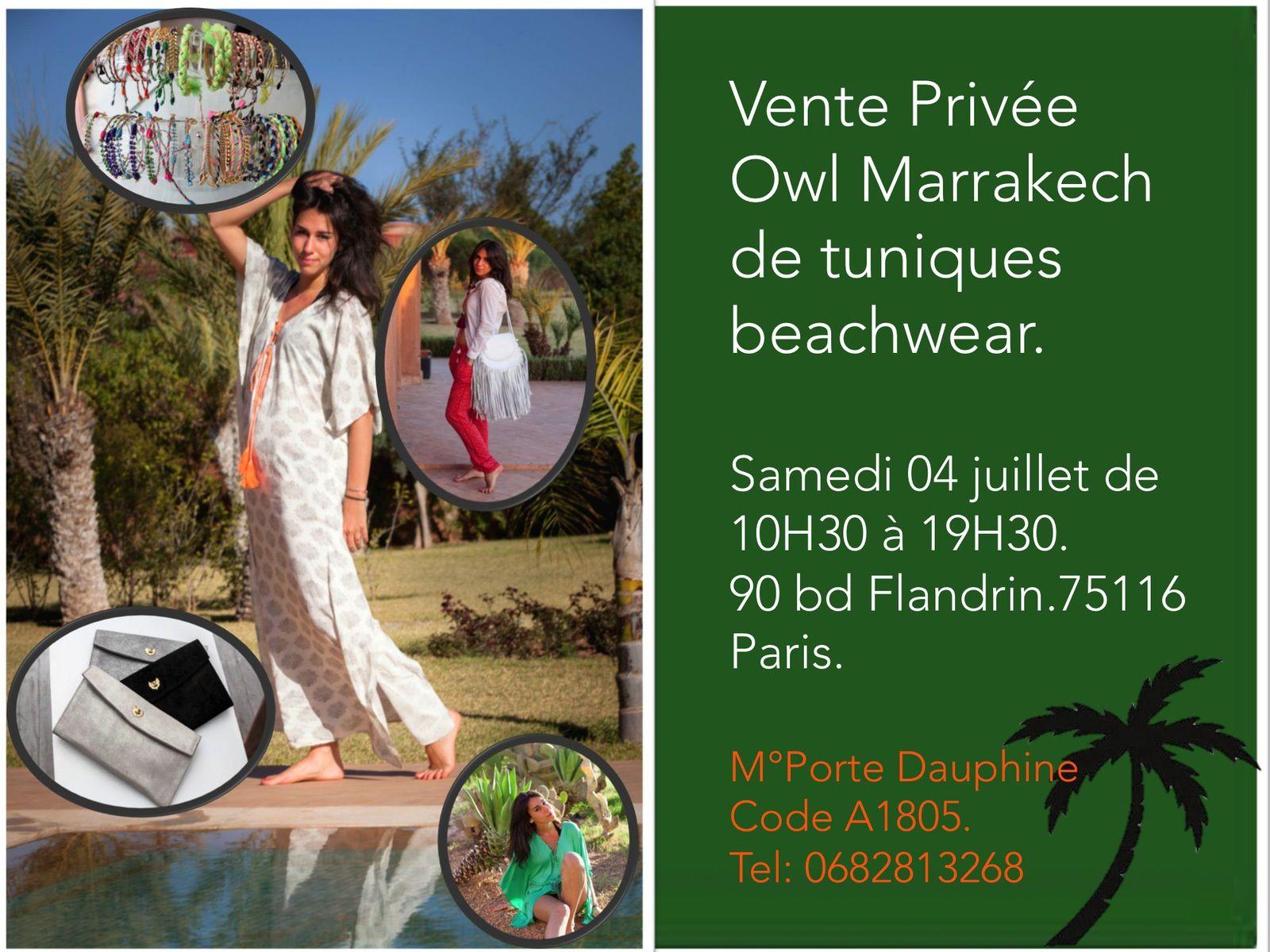 White boho-chic dress by Owl Marrakech