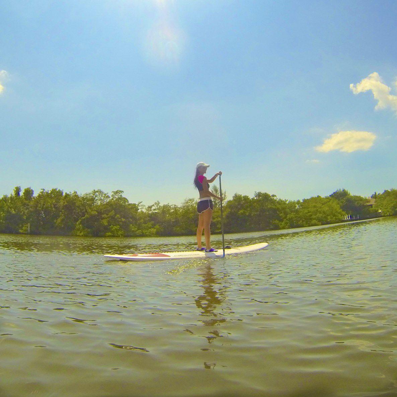Florida Paddle boarding � ✌️