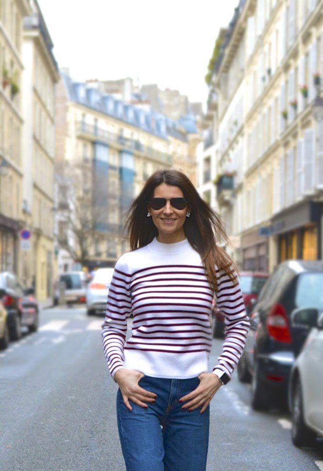 La parisienne en rayures ��