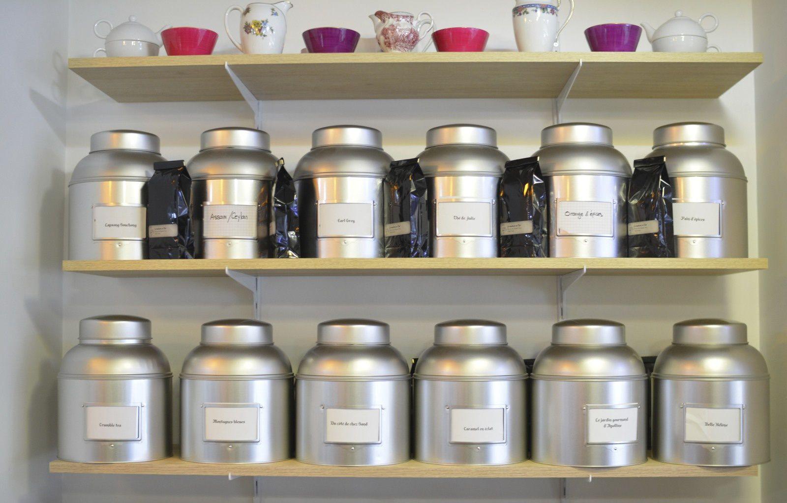Un large choix de thés traditionnels