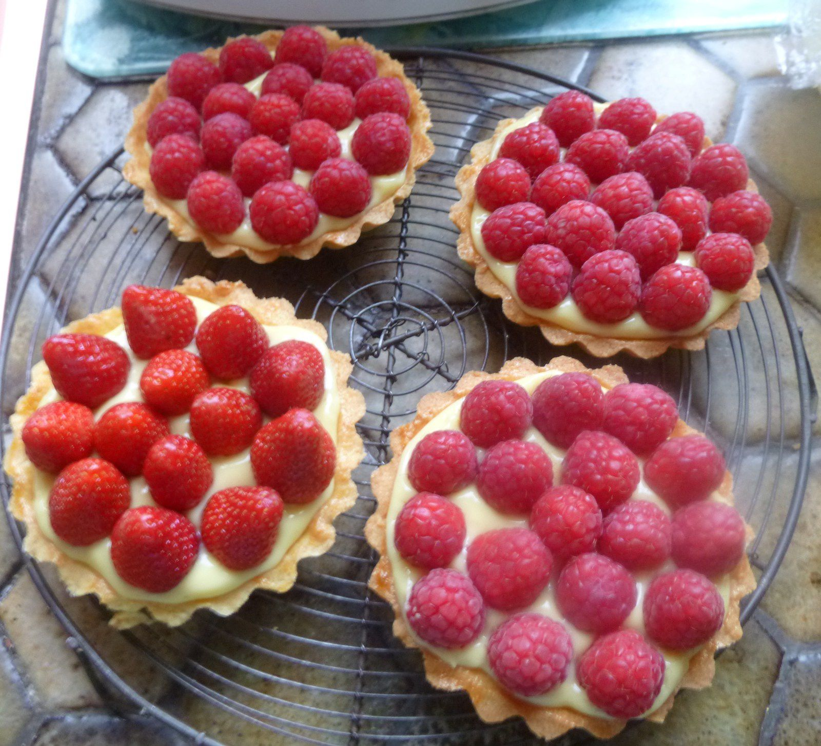 tarte aux fruits