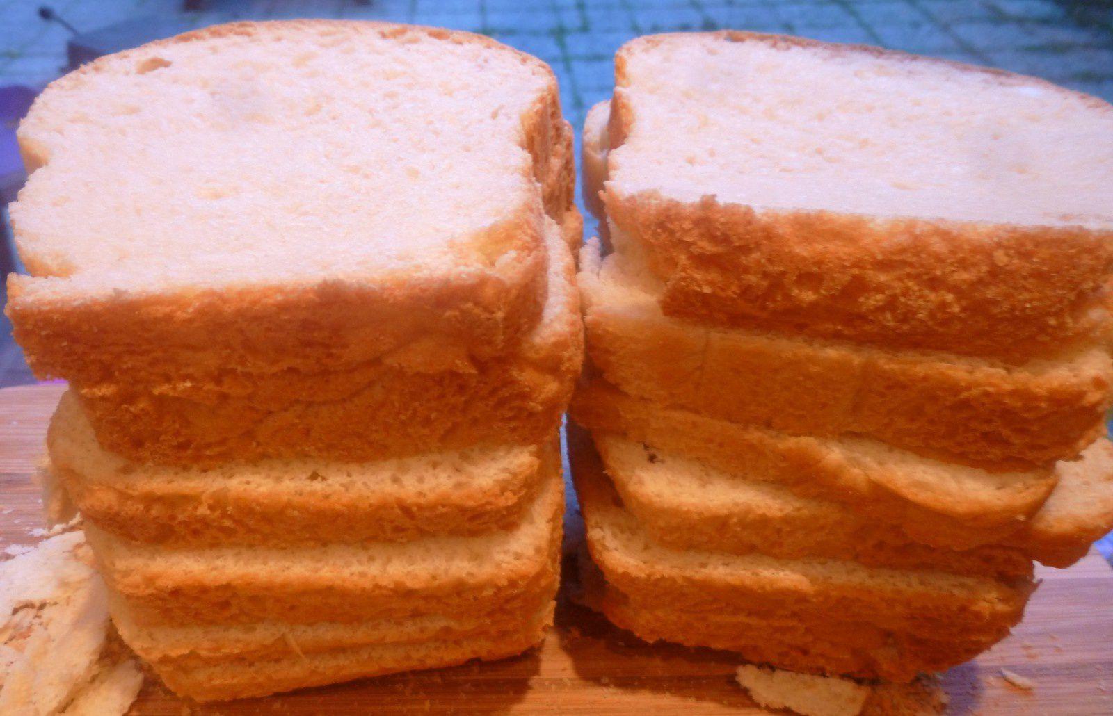 pain de mie (pour mes croque-monsieur)