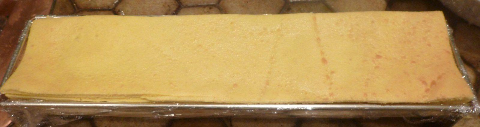 bûche mousse chocolat insert lemon curd,glaçage miroir chocolat