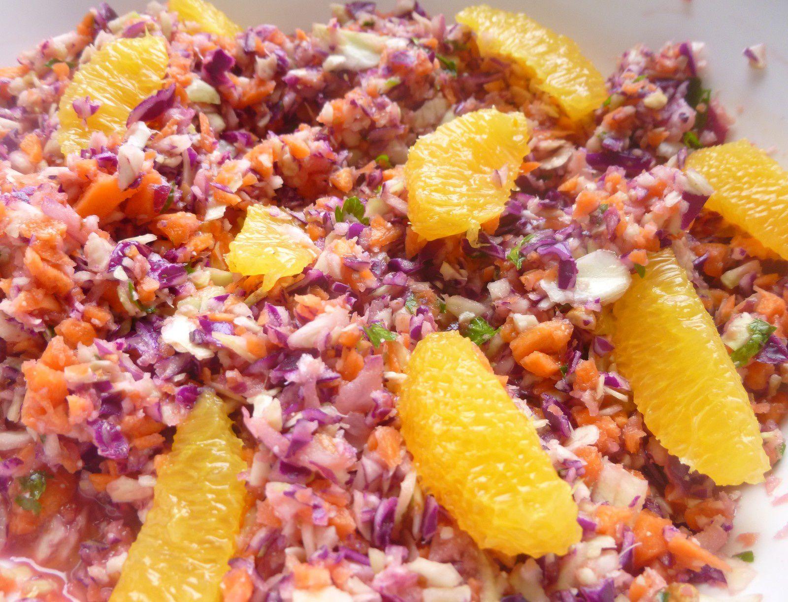petite salade vite faite ultra-vitaminée
