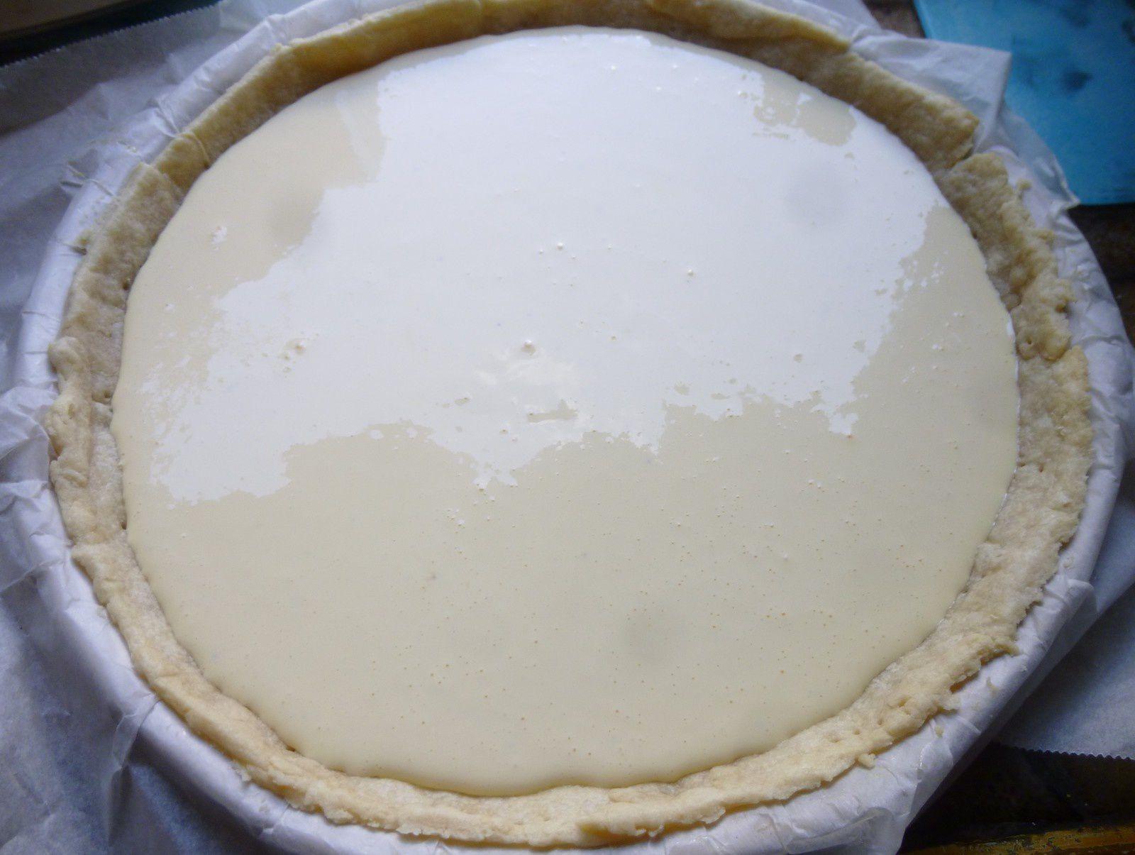 cheesecake salé aux crudités