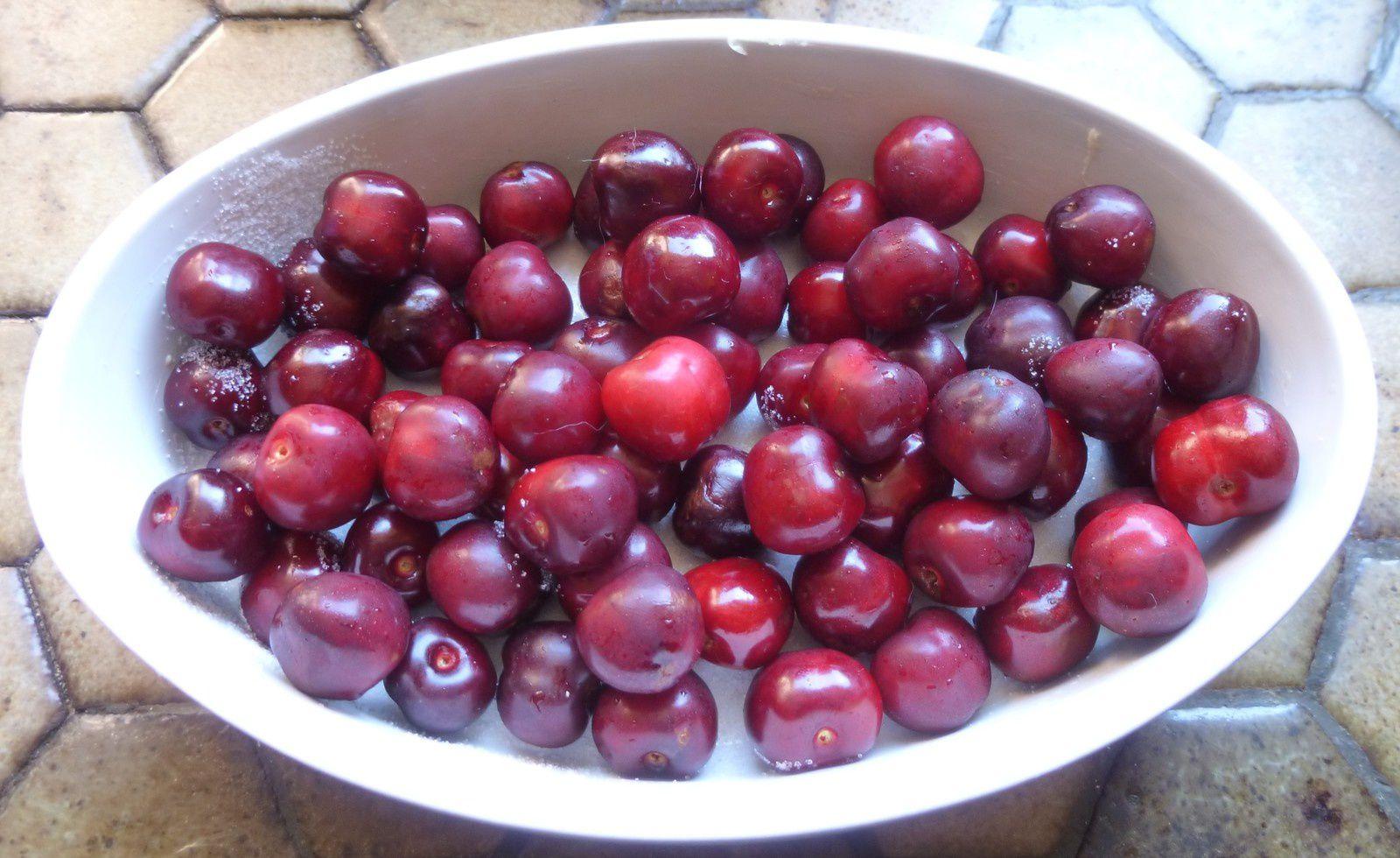 clafoutis aux cerises et fève tonka