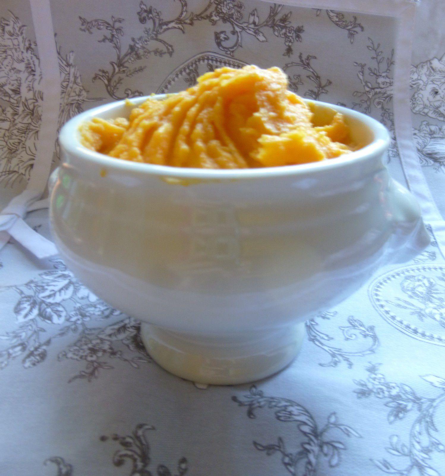 purée de carottes/pommes-de-terre