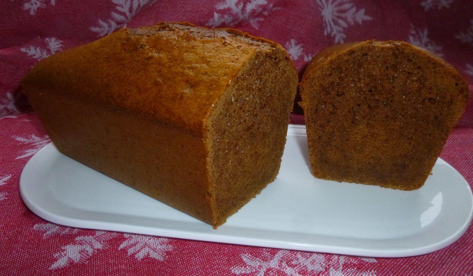 pain d'épices pour accompagner le foie gras