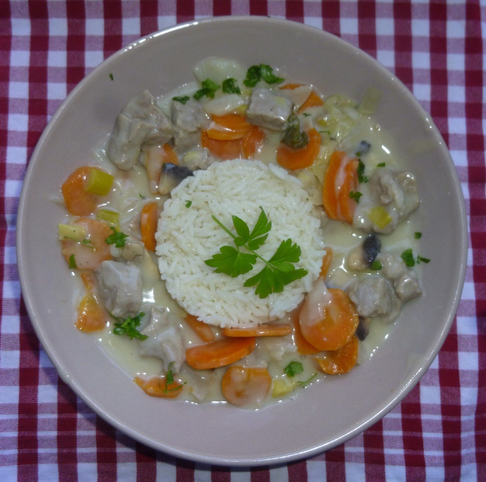 blanquette de veau light