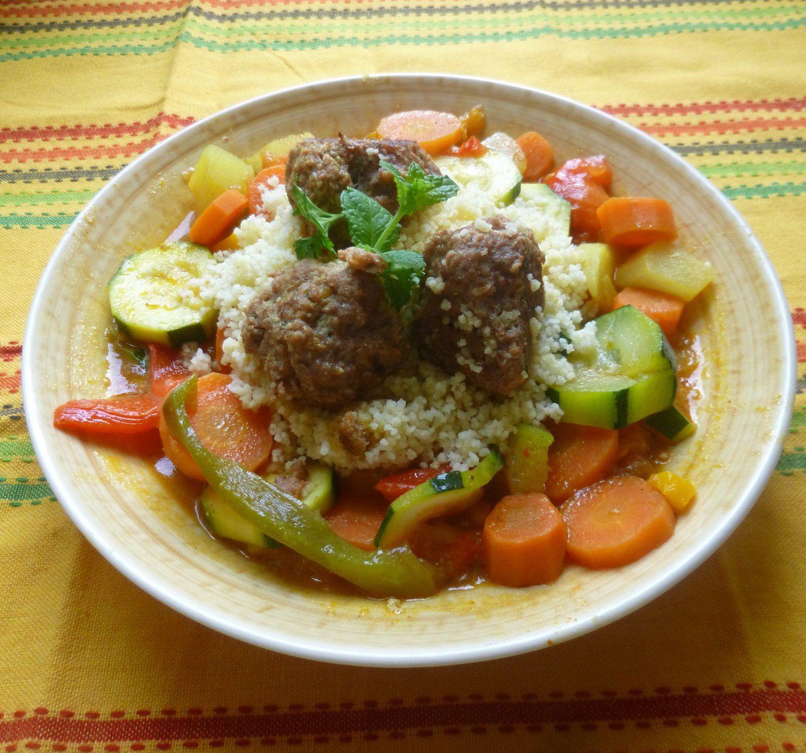 couscous boulettes