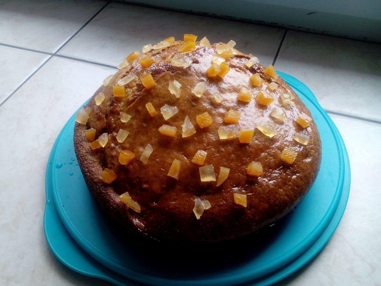 gâteau au yaourt aux saveurs provençales