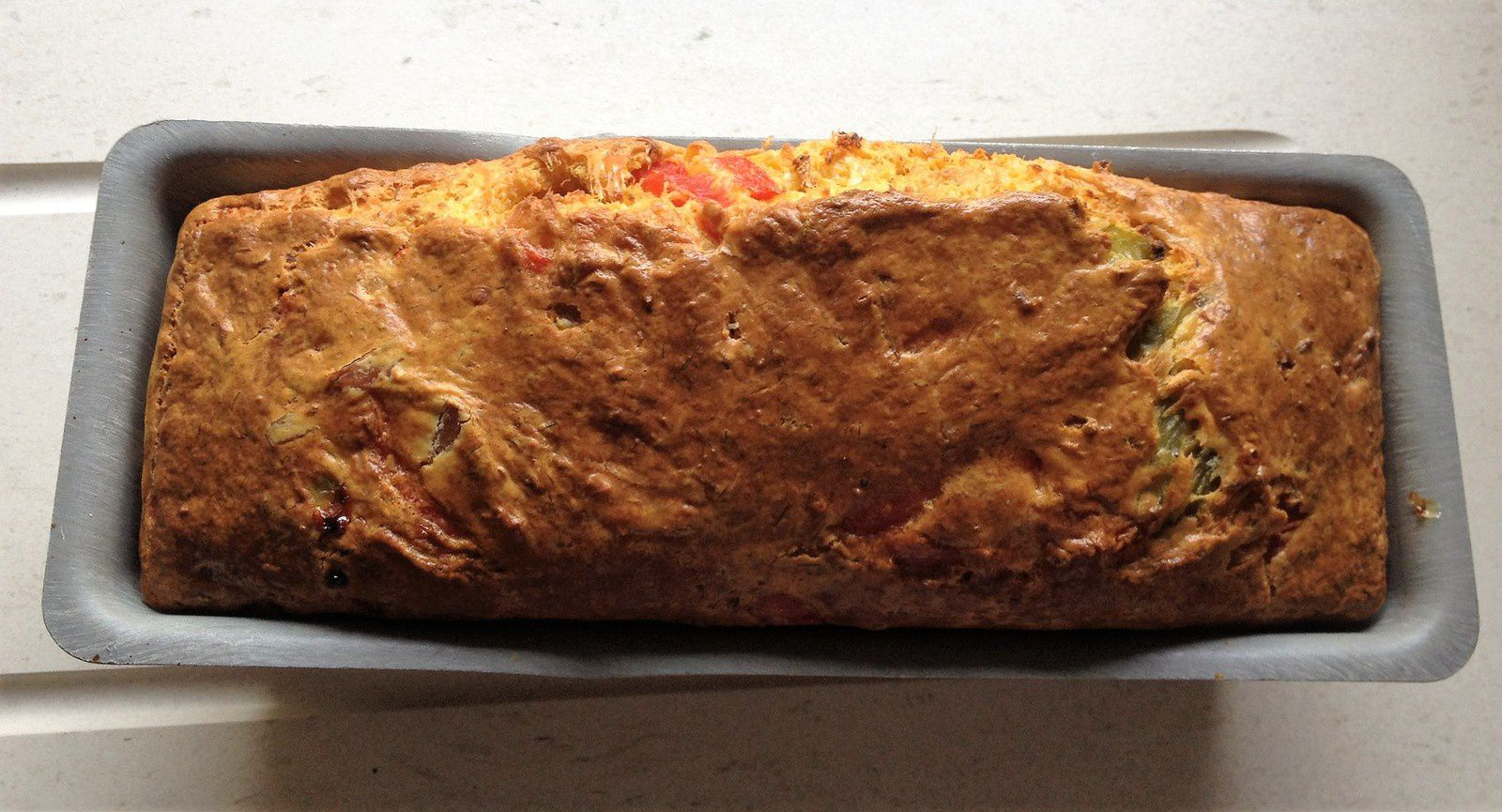 Cake Thon Coulis Tomates