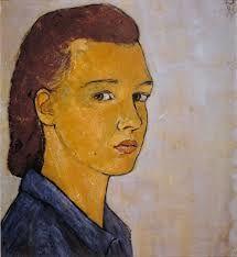 auto-portrait de Charlotte Salomon