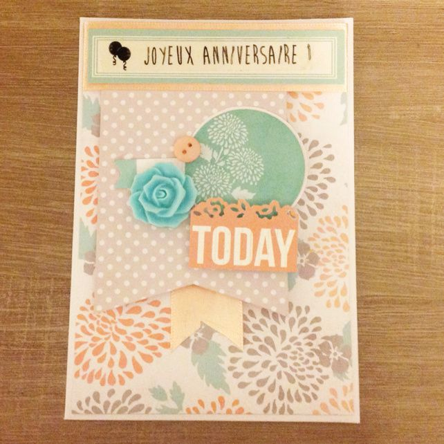 Une nouvelle carte Happy birthday !