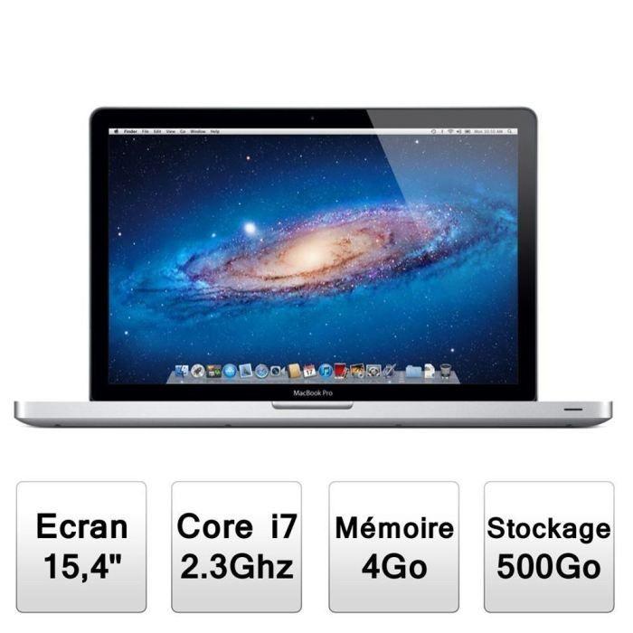 APPLE MacBook pro au meilleure prix sur vendredvd - avis