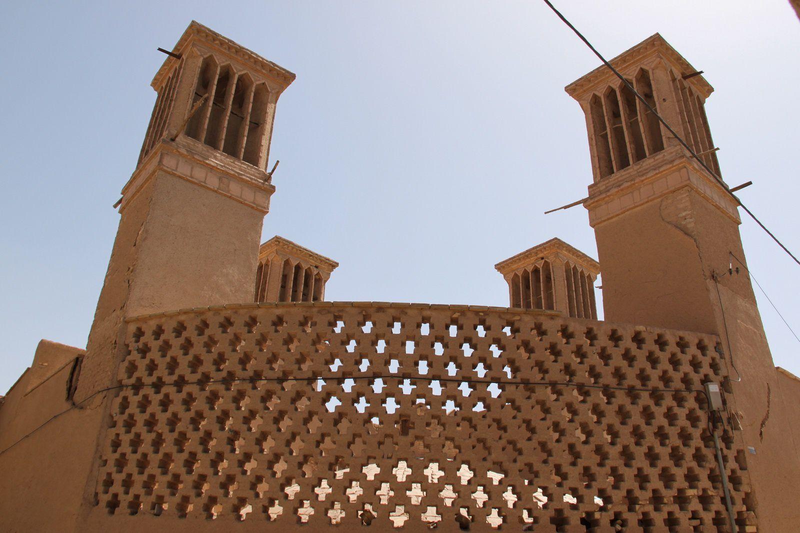 Yazd, sous la chaleur