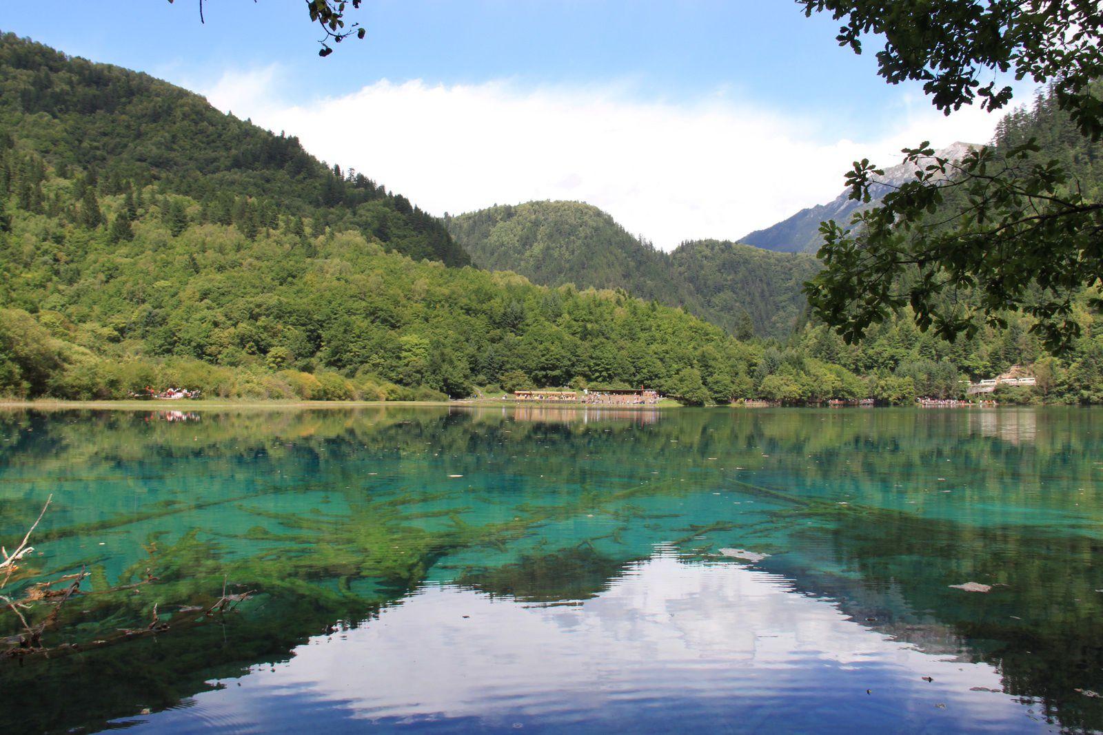 Les parcs du Sichuan... à la chinoise !