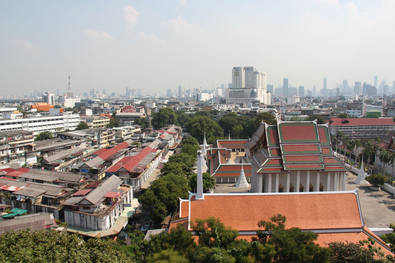 Un tour à neuf à Bangkok !