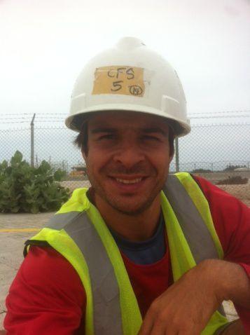 tenue de sécurité obligatoire à Jebel Ali &#x3B;-)