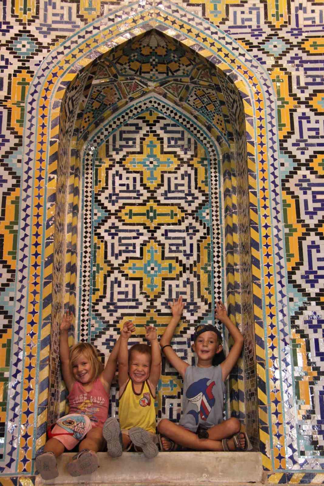 Découverte de Shiraz la poétique