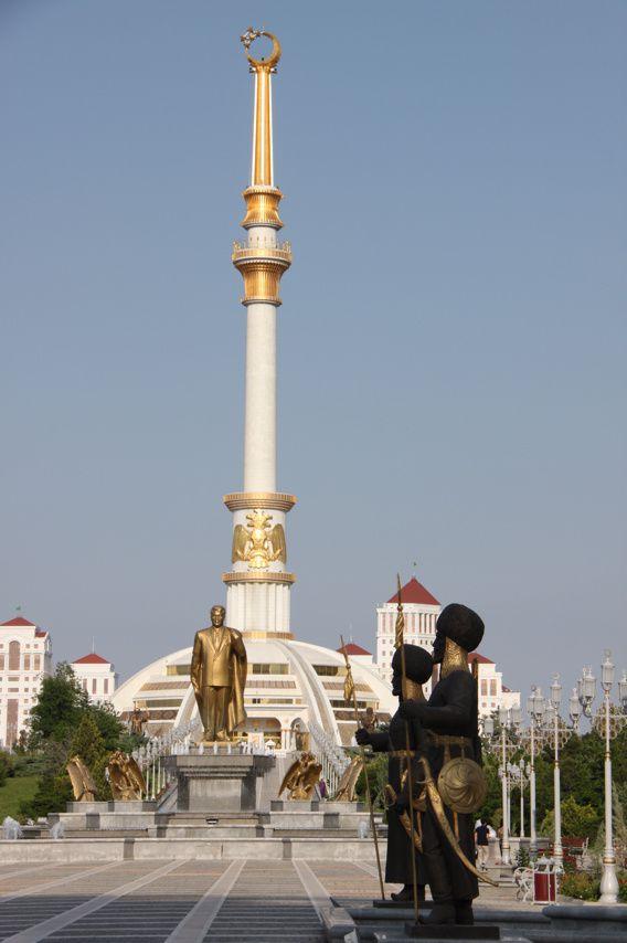 Achgabat, capitale surréaliste