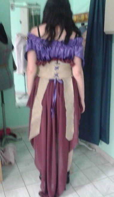 Ma robe de défilé