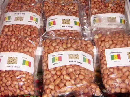 L'arachide , l'or du Sénégal !