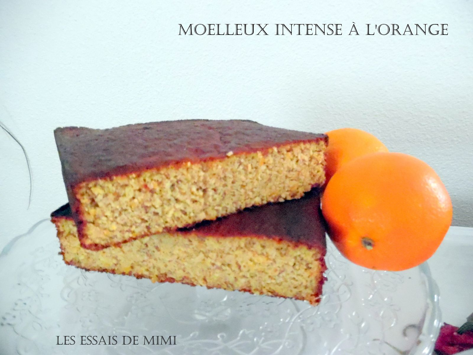 Moelleux intense à l'orange