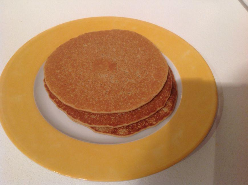 Pancakes express sans gluten (teff et quinoa)