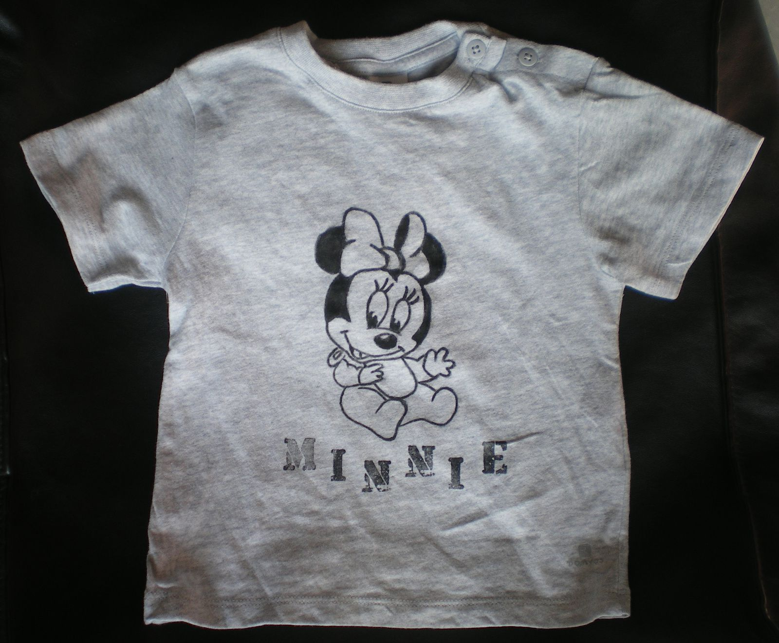 DIY : le tee shirt Minnie