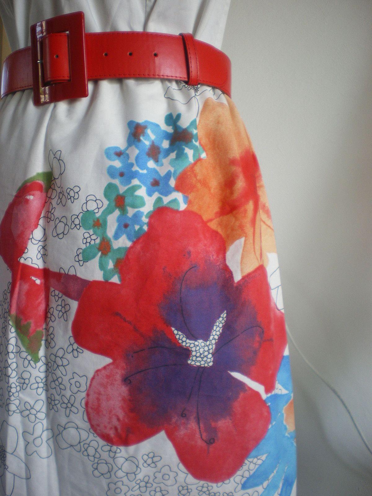 DIY: Customisation d'une robe blanche
