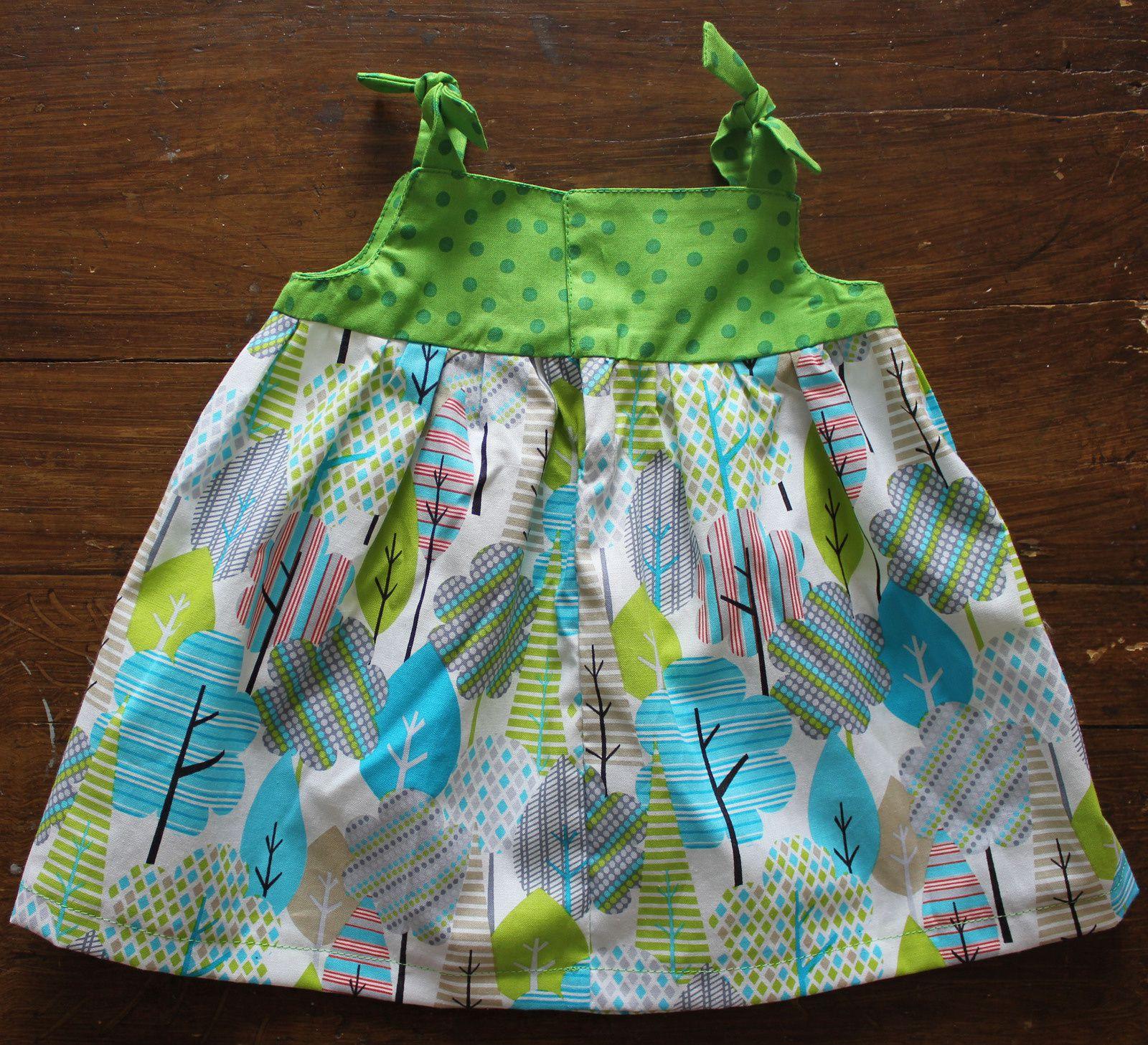 Une petite robe qui sent bon le printemps