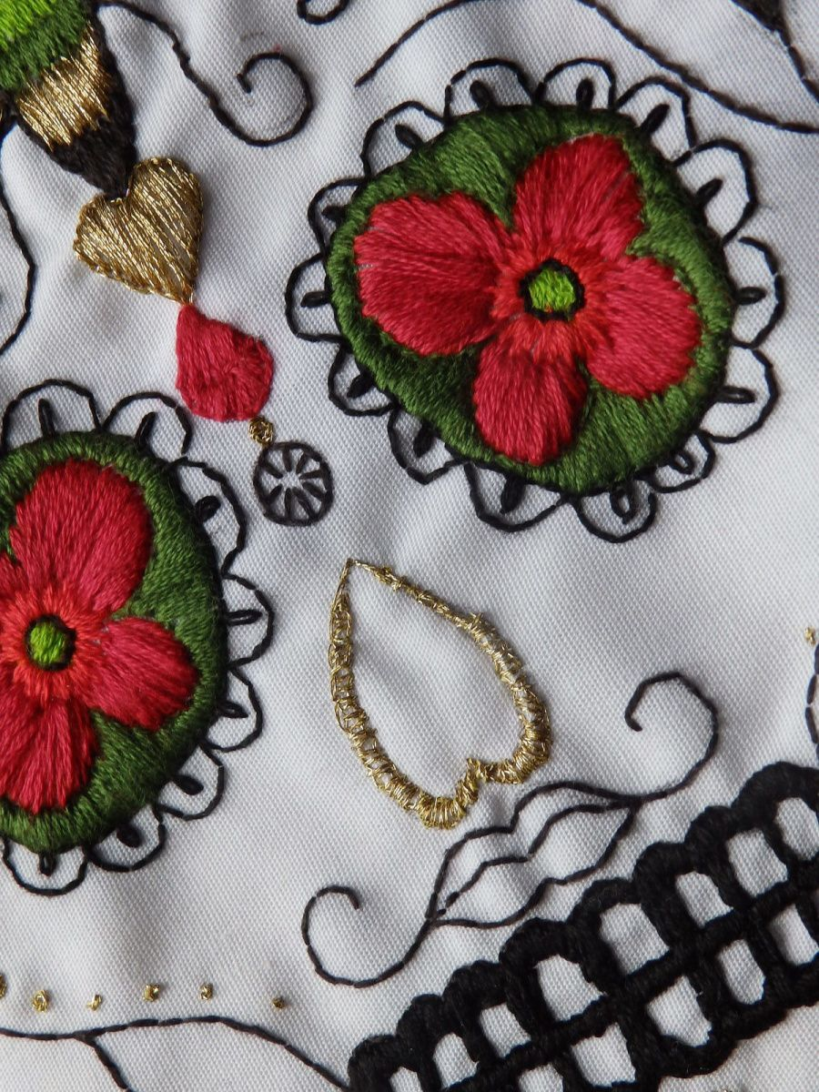 Broderie mexicaine
